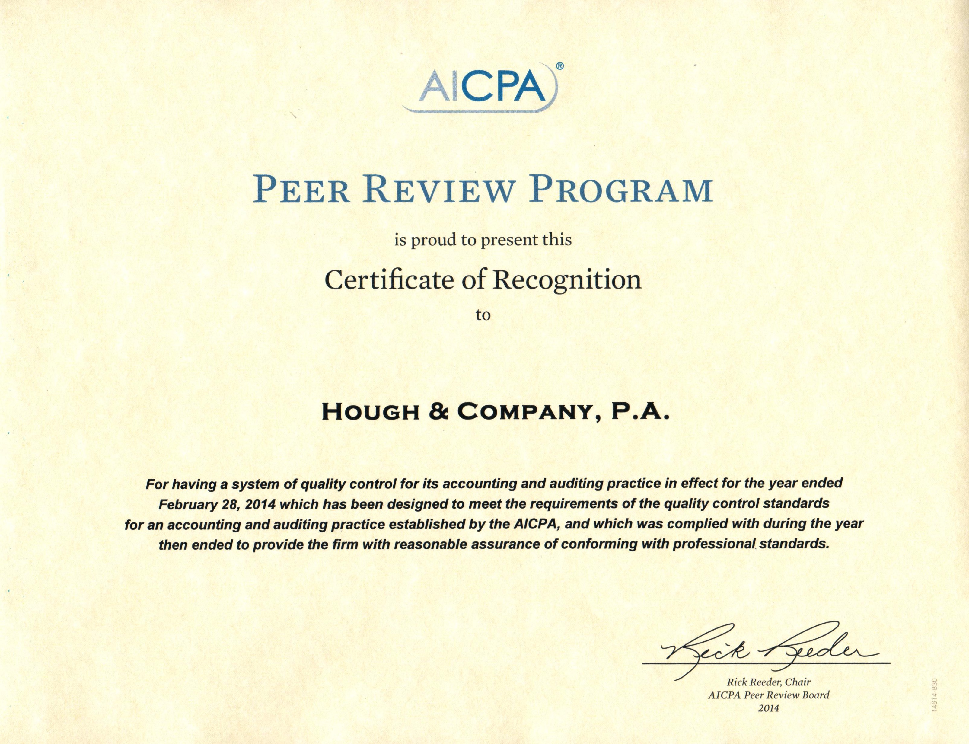 Maine Cpa Reference Letter